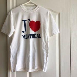 NWOT I Love Montreal T-Shirt